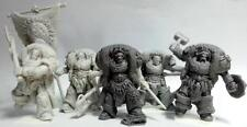 Space Vikings set of 5 Great Wolf Lords of Asgard. True Scale Marine Guard