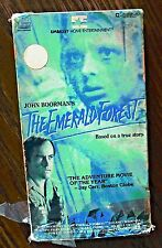 The Emerald Forest (VHS 1985) True Story Powers Boothe Charley Boorman