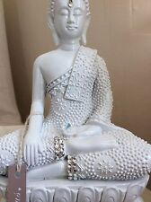 Divine Beautifully Detailed Buddhas Statue. Adorned In Swarovski Elements