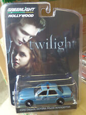 Greenlight Hollywood 5 Twilight Saga forks Wa Police hot Pursuit 1:64 Crown Vic