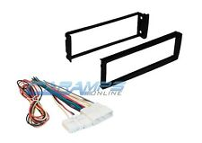 96-98 CIVIC CAR STEREO RADIO DASH INSTALLATION TRIM KIT W/ WIRING HARNESS