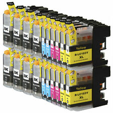 20 NON-OEM INK CARTRIDGE BROTHER LC101 LC-103 XL MFC-J470DW MFC-J4710DW MFC-J475