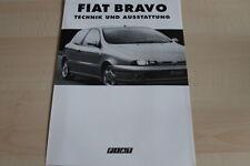 106052) Fiat Bravo - technische Daten & Ausstattungen - Prospekt 09/1995