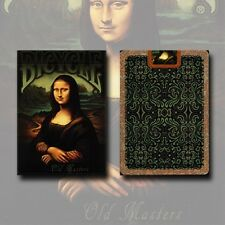 OLD MASTERS BICYCLE DECK OF PLAYING CARDS BY COLLECTABLE & USPCC MAGIC TRICKS
