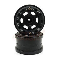 Pro-Line FaultLine 2.2 Inch Black Bead-Loc 6 Lug Wheels Yeti Wraith RC #2758-15