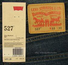 Levis 527 Jeans Mens New Slim Boot Cut Size 33 x 30 OVERHAUL Levi's #313