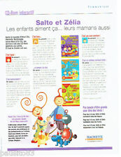 PUBLICITE ADVERTISING  026  2002  Editions Hachette  Salto & Zélia