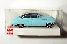 HO Busch 2-Tone Blue/Black 1950 Buick Sedan 1/87 Model Car 44702