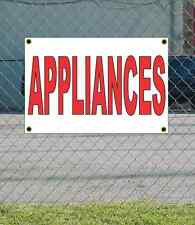 2x3 APPLIANCES Red & White Banner Sign NEW Discount Size & Price FREE SHIP