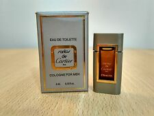 Santos de Cartier Miniature 4 ml EDT for Men PERFUME MINI MINIATURE NEW w/ box