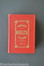 Annuario Nobiltà Italiana 1901 Araldica Stemmi Genealogia Asquini Clavarino