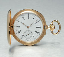 Audemars Freres Brassus Minute Repeater 18k gold cut hunter 1898 Pocket watch
