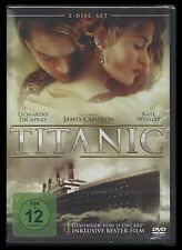 DVD TITANIC - 2 DISC SET - LEONARDO DiCAPRIO + KATE WINSLET - James Cameron *NEU