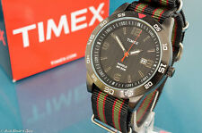 CLASSIC TIMEX MENS SUBMARINER DIVERS STYLE CALENDAR WATCH W/ G-1O STRAP