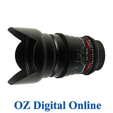 New Samyang 35mm T1.5 AS UMC for Canon 1 Yr Au Wty