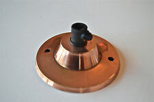 A COPPER CEILING LIGHT ROSE CORD GRIP HANGING LAMP FIXTURE SCR3