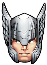 Official Thor Marvel The Avengers Card Party Face Masks Mask  - Super Hero God