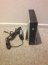 HP T5565 Thin Client Computer 1GB RAM w/ Power Supply & DVI Adaptr Wrks Perfect