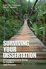 Surviving Your Dissertation : A Comprehensive Guide to Content and Process by...