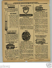 1929 PAPER AD Heddon's New Imperial Martin Pflueger Automatic Fishing Reel