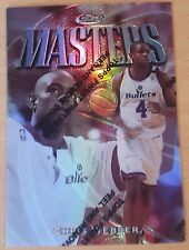 1997-98 Finest Refractors #129 S  /1090 Chris WEBBER
