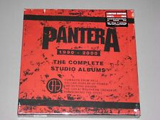 "PANTERA Complete Studio Albums 5LP Box Set + 7""  Colored Vinyl New"
