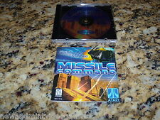 Missile Command (PC, 1999) Game Windows (Mint)