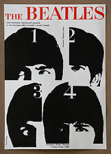 The Beatles A Hard Days Night Rare Vintage Swierzy 1964 Movie Poster