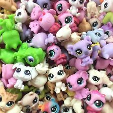 "Random pick 10PCS LITTLEST PET SHOP 0.5"" LPS Mini Cute Animals Figure Kid toys"