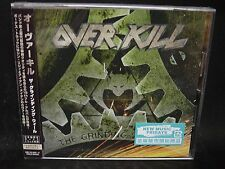 OVERKILL The Grinding Wheel + 2 JAPAN CD The Bronx Casket Co. The Lubricunts DOA