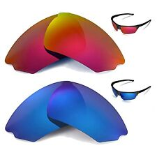 New WL Polarized Fire Red + Ice Blue Lenses For Rudy Project Noyz Sunglasses