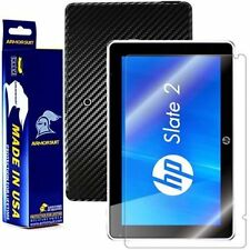 ArmorSuit MilitaryShield HP Slate 2 Tablet Screen Protector + Black Carbon Skin
