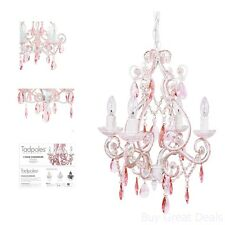 4 Light Mini Crystal Chandelier Hanging Ceiling Fixture Pendant Lamp Lighting