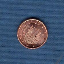 Espagne - 2006 - 1 centime d'euro - Pièce neuve de rouleau -