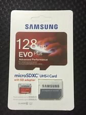 New Samsung 128GB EVO PLUS Micro SD Micro SDHC 80MB/s UHS-I Class10 Memory Card