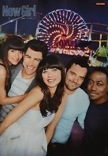 NEW GIRL - A3 Poster (ca. 42 x 28 cm) - Clippings Fan Sammlung NEU