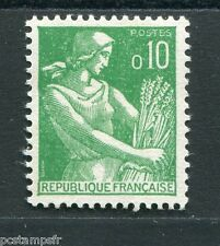 FRANCE, 1960, timbre 1231, type MOISSONNEUSE, neuf**, VF MNH STAMP
