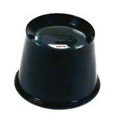 """3 1/2"""" FOCUS EYE LOUPE PLASTIC 3X MAGNIFIER JEWELER WATCHMAKER MAGNIFYS 3 TIMES"""