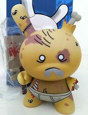 """DUNNY 3"""" 2011 SERIES HUCK GEE ZOMBIE BROWN EXCLUSIVE KIDROBOT TOY UBRAN VINYL"""