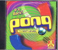 ATARI PONG The Next Level 3-D environments Windows PC Game CD-Rom
