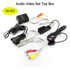 Set Top Box Share Audio Video AV sender Transmitter Receiver Infrared Repeater