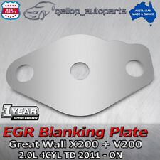 EGR Blanking Plate for GREAT WALL X200 2.0L 4CYL Turbo diesel with hole 2011-ON