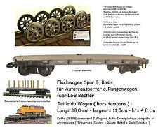 TRAIN LOT 2 Wagons Transport Rails Maison Camion Château Accessoire PLAYMOBIL® 1