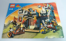 LEGO ® de recette DUPLO ritterburg 4777 ungelocht BA instructions Castle