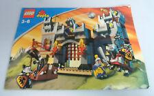 LEGO® Bauanleitung Duplo Ritterburg 4777 ungelocht BA Anleitung Castle