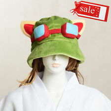 LOL league of legends Teemo One Size Cosplay Party Warm Hat Army Green New W#