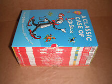 A Classic Case of Dr. Seuss Box Set Lot of 20 Books Paperback NEW