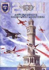 BROSCHÜRE AIRSHOW IZMIR 2011-100th ANNIVERSARY OF TURKISH AIRFORCE,TURKISH STARS