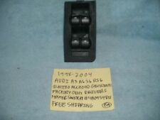 1998-2004 AUDI A3 A6 S6 RS6 GENUINE DRIVER MASTER SWITCH 4B0959851 FREE SHIPPING