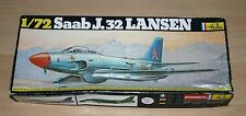 25-343 HELLER 1/72nd SCALE SAAB J.32 LANSEN PLASTIC MODEL PARTS KIT